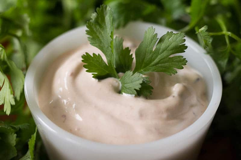 This chipotle sour cream dip has only 2 ingredients! Simply chop, combine, and stir to make one of the best dips I've ever tasted in my entire life.