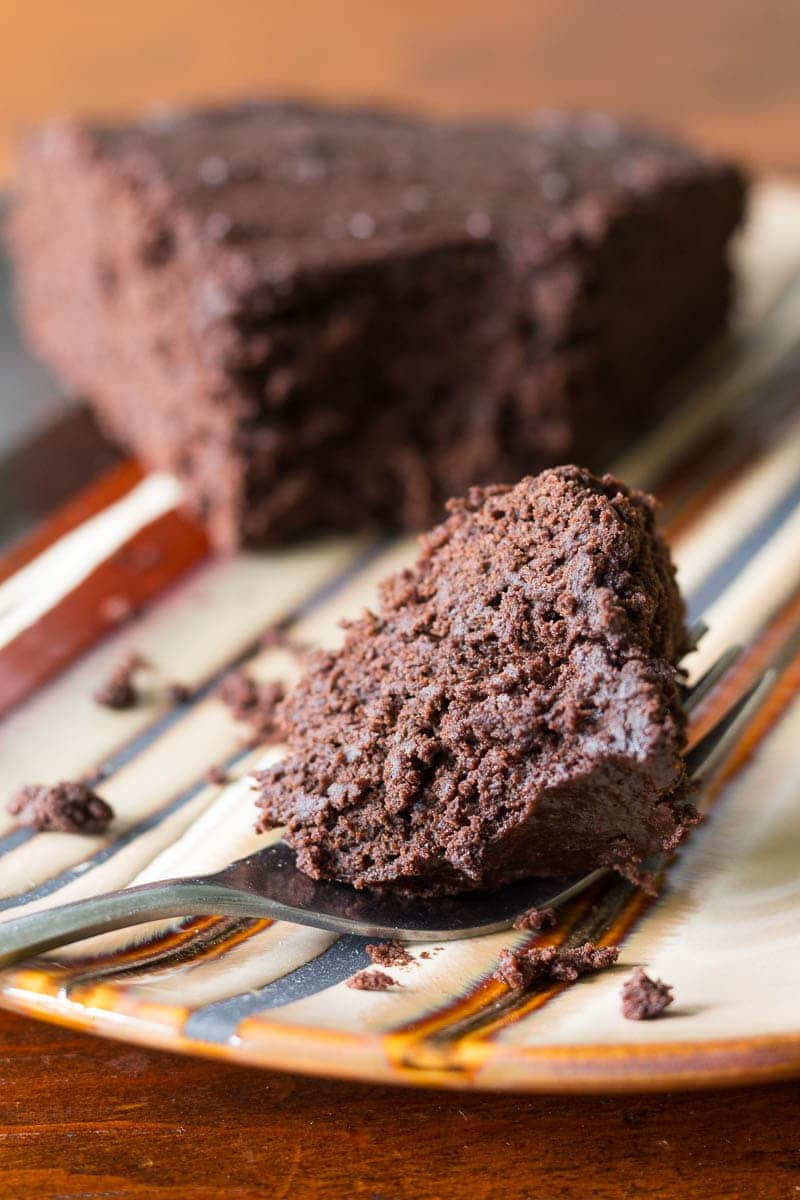 Chocolate applesauce cake makes the perfect better-for-you dessert. It's rich in the chocolate flavor that you love while reducing the total amount of fat.