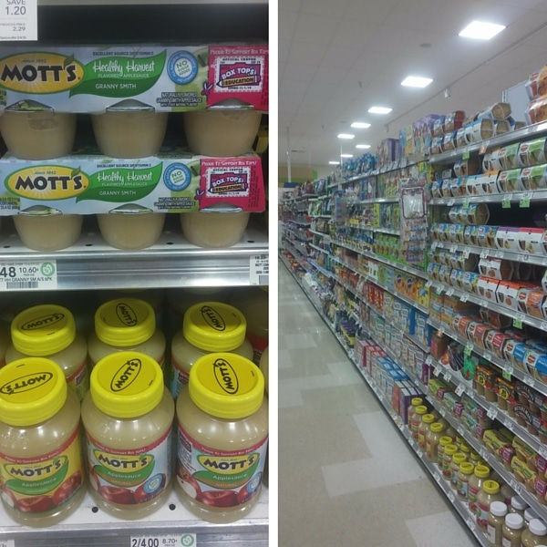 Mott's Applesauce at Publix