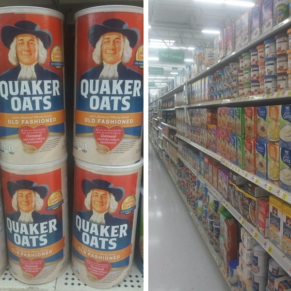 Quaker Oats at Walmart