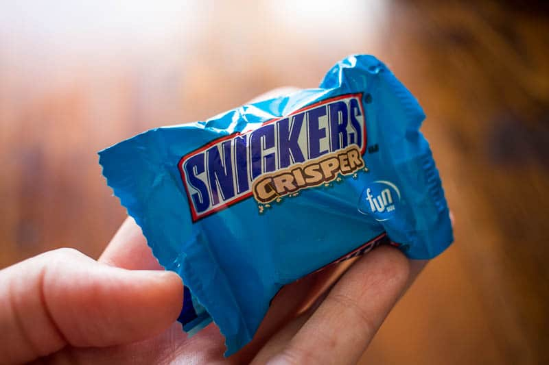 In this true grocery shopping confession, find out why you should never shop hungry. Bring a Snickers Crisper!