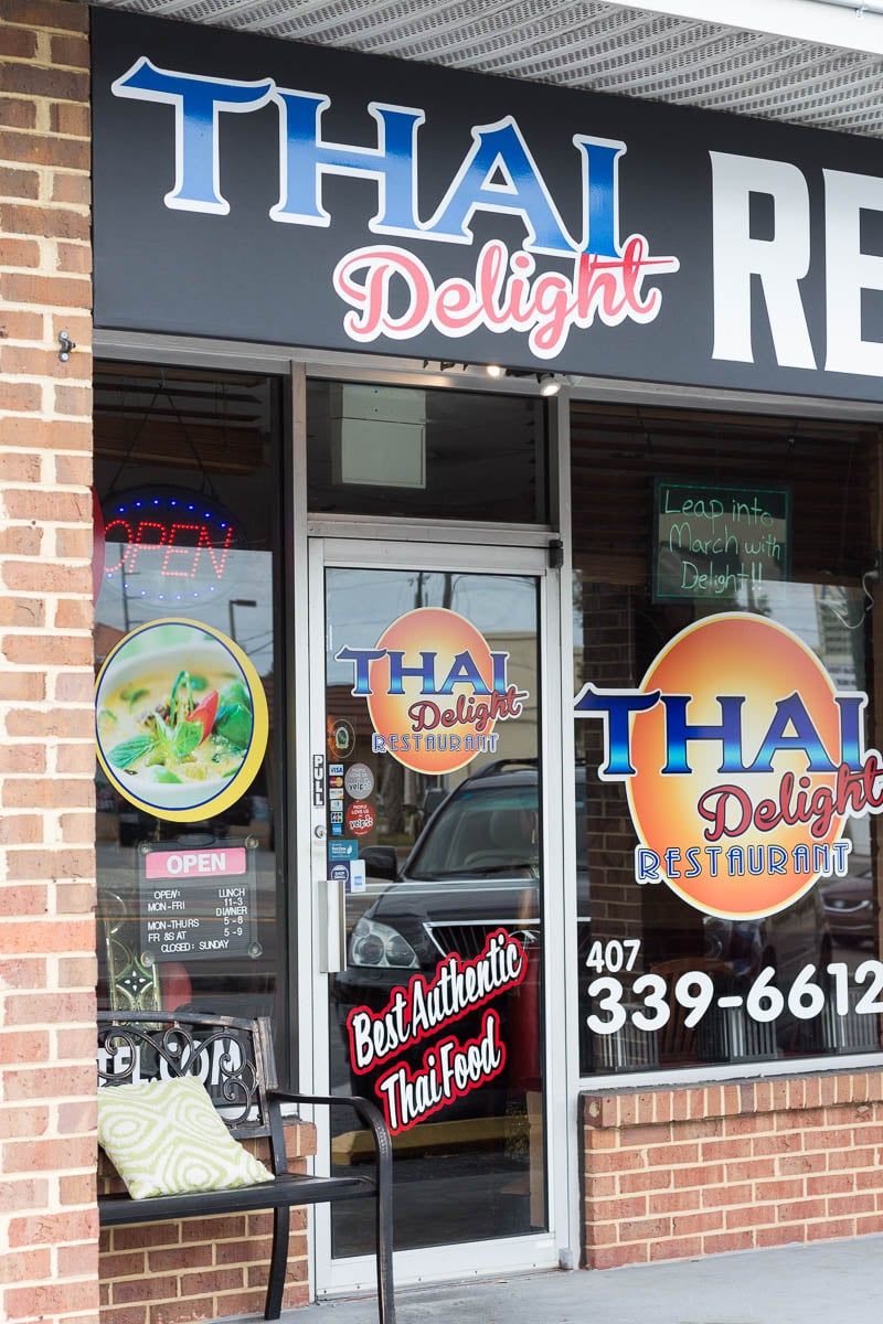 "Thai Delight, a local ""hot"" spot that lives up to its name, is located in Longwood, FL, and serves fresh and flavorful Thai food."