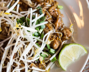 "Thai Delight, a local ""hot"" spot that lives up to its name, is located in Longwood, FL, and serves fresh and flavorful Thai food. This is their Pad Thai."