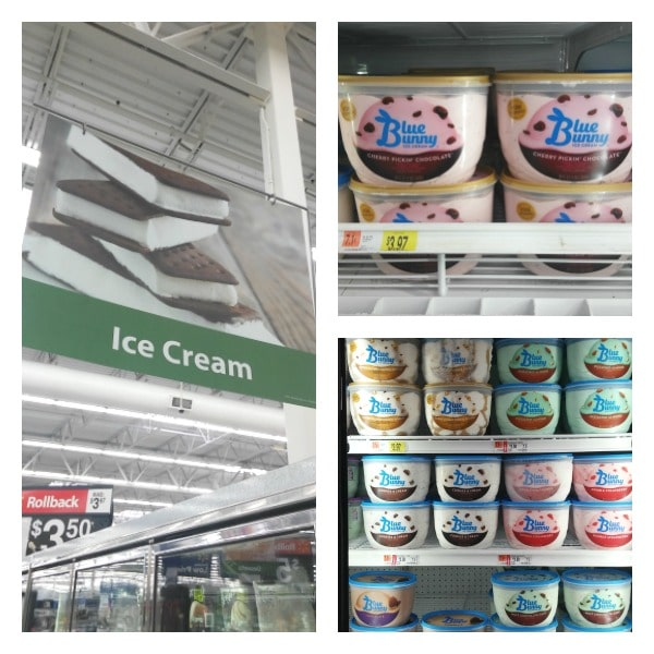 Blue Bunny Ice Cream at Walmart