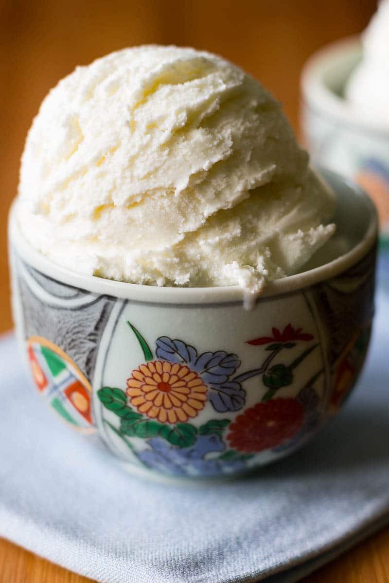 Fresh ginger gives a subtle kiss of flavor to this smooth, creamy ginger ice cream.