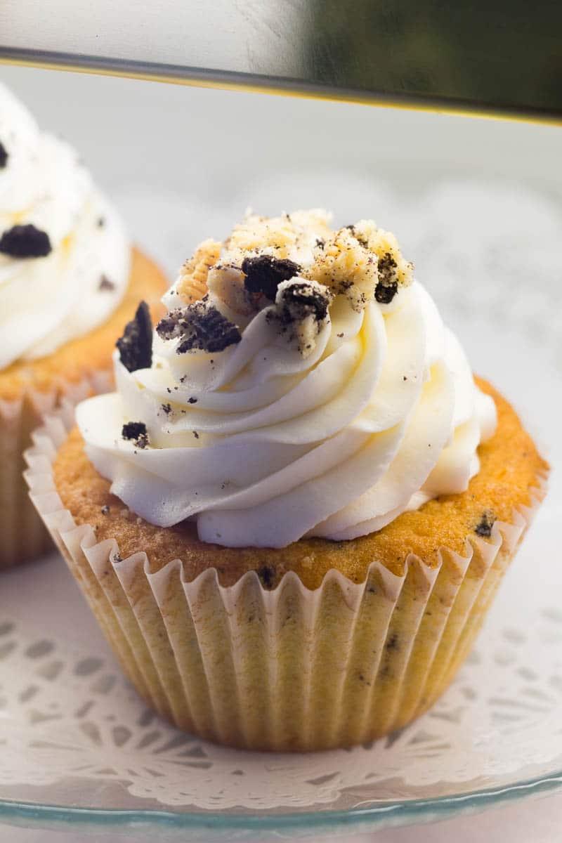 Mattie's Delectable Desserts Cookie Cupcake