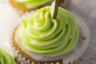 Mattie's Delectable Desserts Key Lime Cupcake
