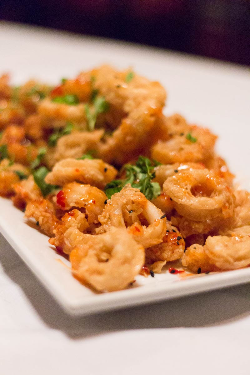 Christner's Orlando offers prime steak, lobster, and more (like this calamari) in an old school steakhouse setting. Perfect for special occasions!