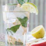 Cinnamon Water with Apple, Sage, and Lemon