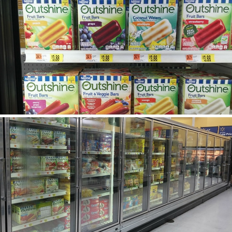Outshine Bars at Walmart