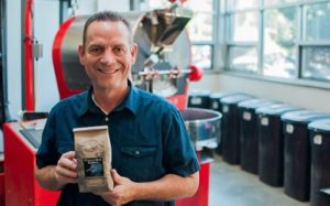Jeff Ericson, founder of Camano Island Coffee Roasters