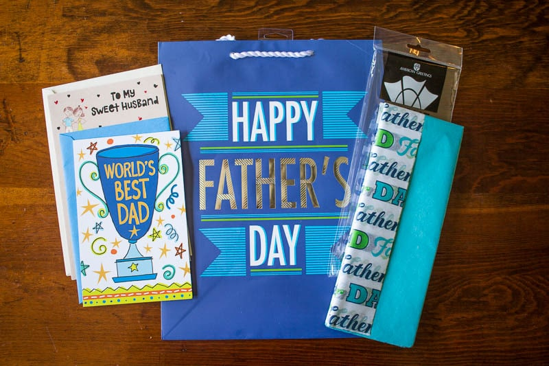 Father's Day Gift Wrap and Cards