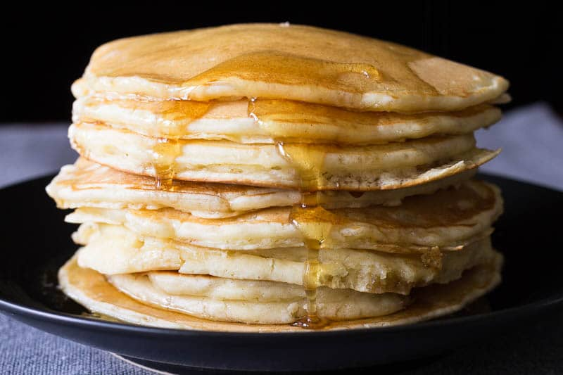 easy pancakes from scratch pancakes from scratch recipe for perfection 30255