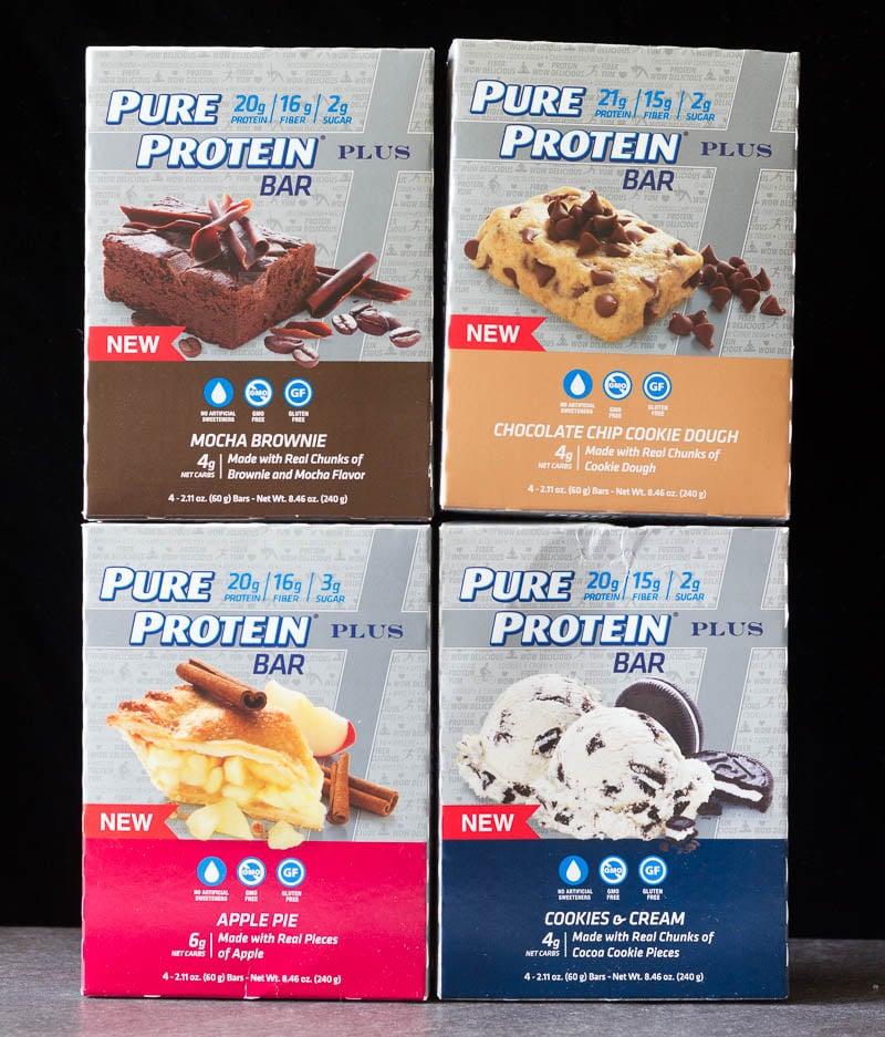 Pure Protein Plus Bars