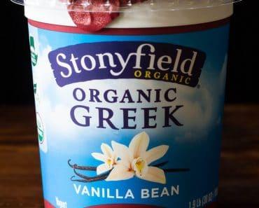 Stonyfield Organic Greek Yogurt