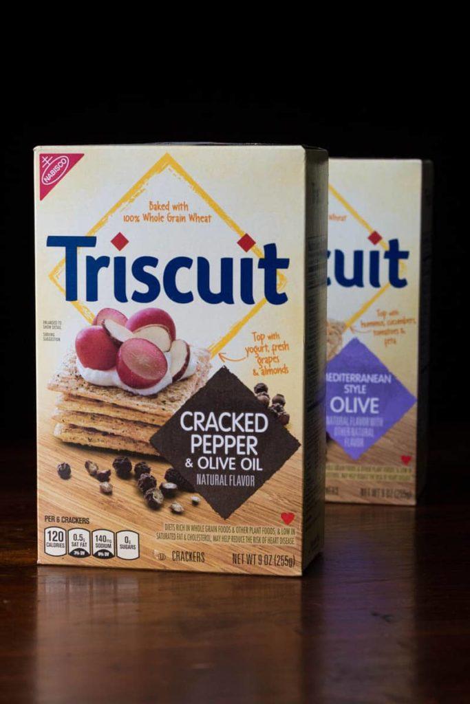 Triscuit Cracker Boxes
