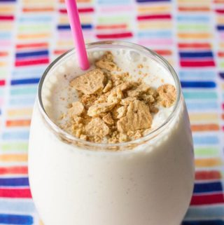 You will be absolutely amazed by how delicious a cottage cheese smoothie can be. This vanilla bean banana cheesecake smoothie will knock your socks off!