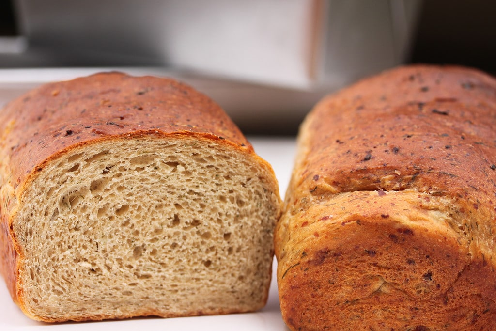 Looking for recipes with cottage cheese? These 34 cottage cheese recipes cover breakfast, smoothies, dips, breads, sides, dinner, and dessert, including this dill bread.