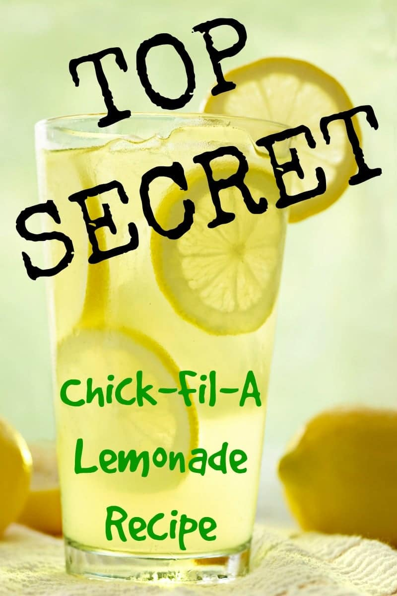 The Real Secret Of Chick Fil A Lemonade Recipe For Perfection