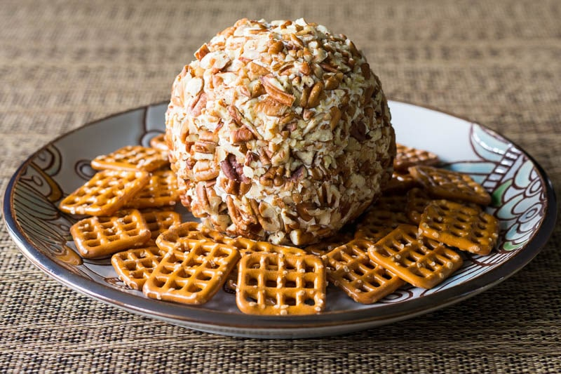 Easy Cheese Ball Recipe with Just Three Ingredients!