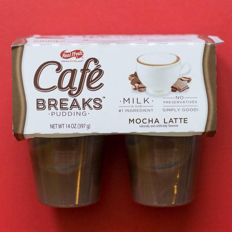 Cafe Breaks Mocha Latte Pudding