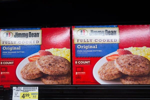 Jimmy Dean Sausage Patties
