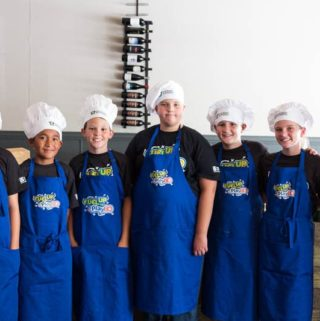 Cress Restaurant Hosts Special Dinner with Local Kid Chefs
