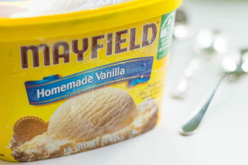 Mayfield Homemade Vanilla Ice Cream Carton