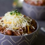 Meatless Chili • Hearty Vegetables and Rich Flavor