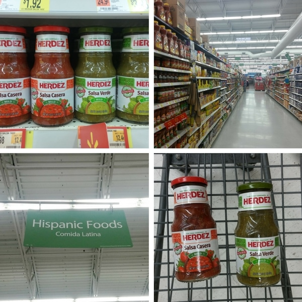 Herdez Salsa at Walmart