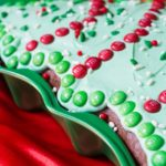 Easy Christmas Tree Cake Decorating Idea
