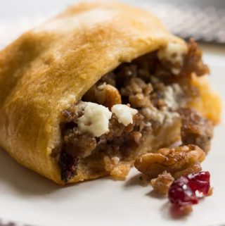 Sausage Cranberry Pecan Crescent Roll Ring