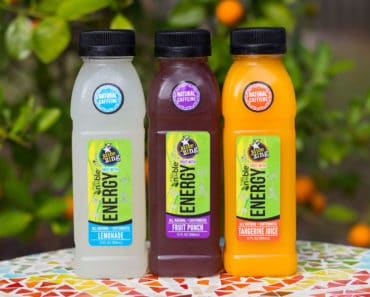The new Juice Zing line of premium juices from Noble Juice enhances fresh-tasting, naturally pure juice with real green coffee extract for an energy boost.