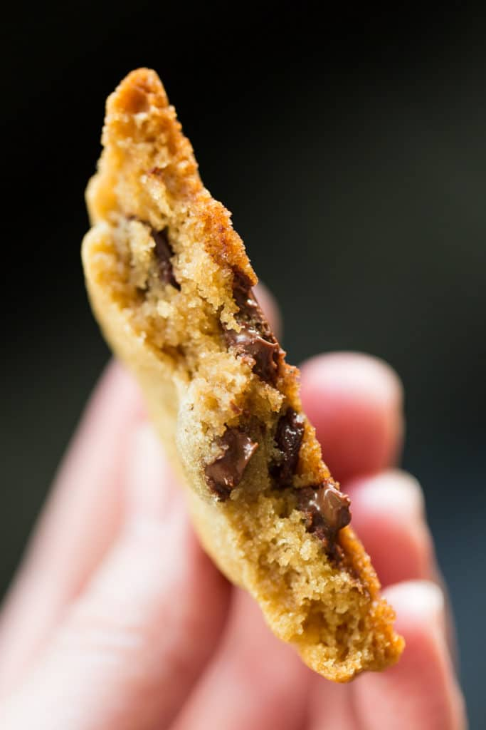 Did you know that the TV version of Alton Brown Chocolate Chip Cookies is different than the one published online? Get the recipe that actually works!