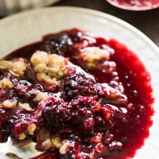 Easy Blackberry Crumble Recipe