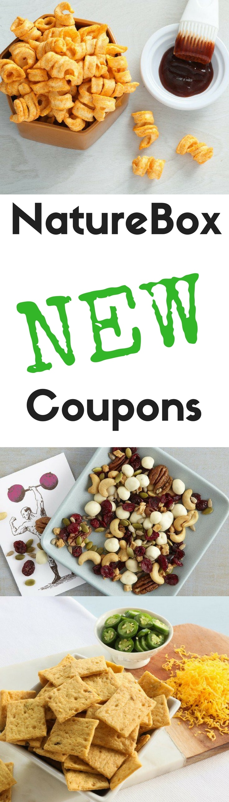 Always updated!  New NatureBox promo codes and coupons, plus the complete guide to getting the most from your NatureBox subscription.