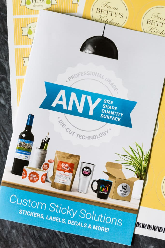 Do you can, jar, bottle, or otherwise package food and drink? Then you need to see how beautiful personalized labels can be on your packaging!
