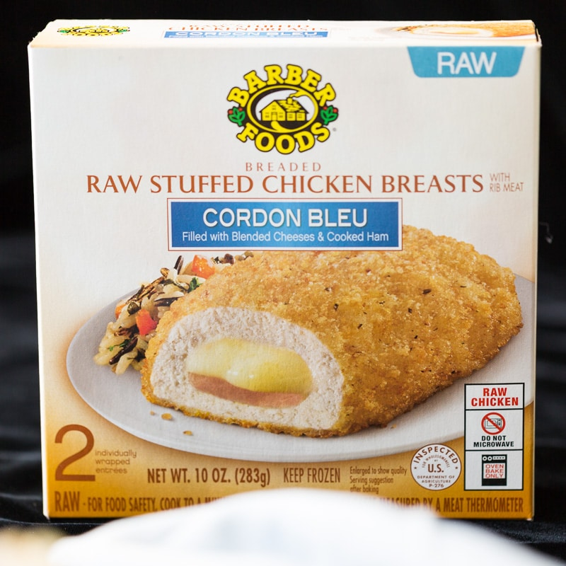 Barber Foods Cordon Bleu Stuffed Chicken Breast