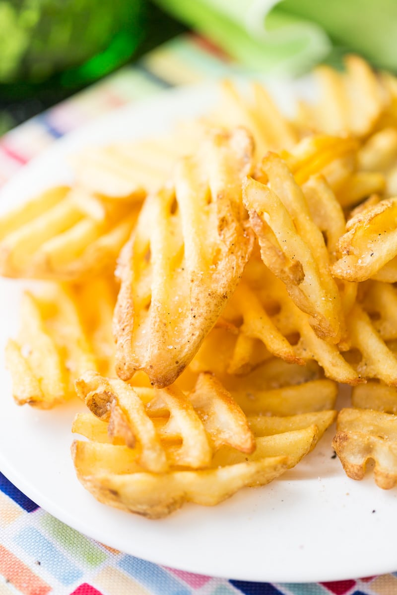 Add this french fry seasoning to any french fry recipe for perfectly flavored french fries.  Easy to make with just a few ingredients.