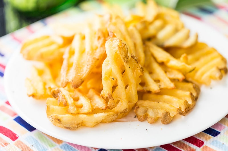 Add this french fry seasoning to any french fry recipe for perfectly flavored french fries. Easy to make with just a few simple ingredients.