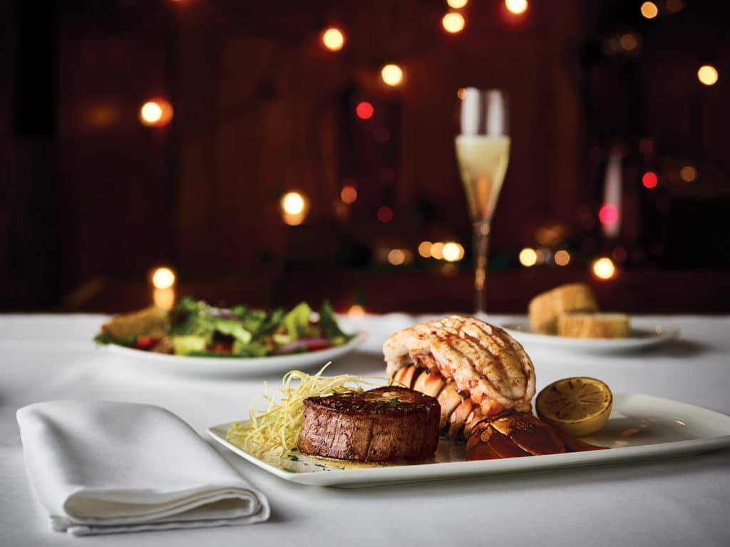 Fleming's Prime Steakhouse - Valentine's Day 8oz Filet and Australian Lobster Tail