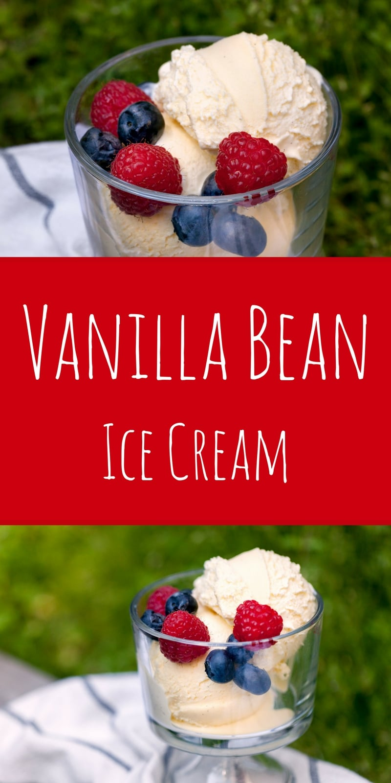 Creamy, dreamy vanilla bean ice cream, made the right way with a simple custard and real vanilla. Say hello to your new favorite flavor!