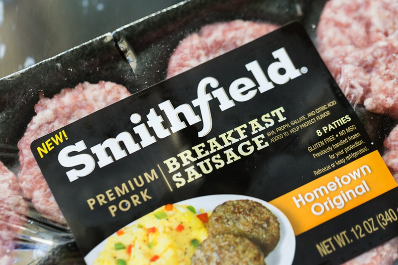 Smithfield Breakfast Sausage Patties