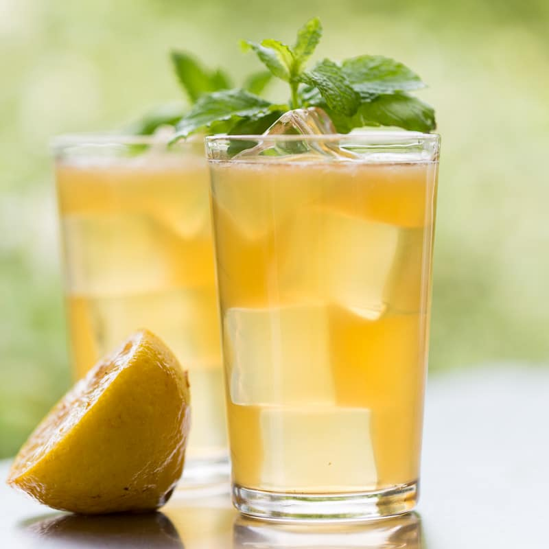 Brown Sugar Grilled Lemonade Glasses
