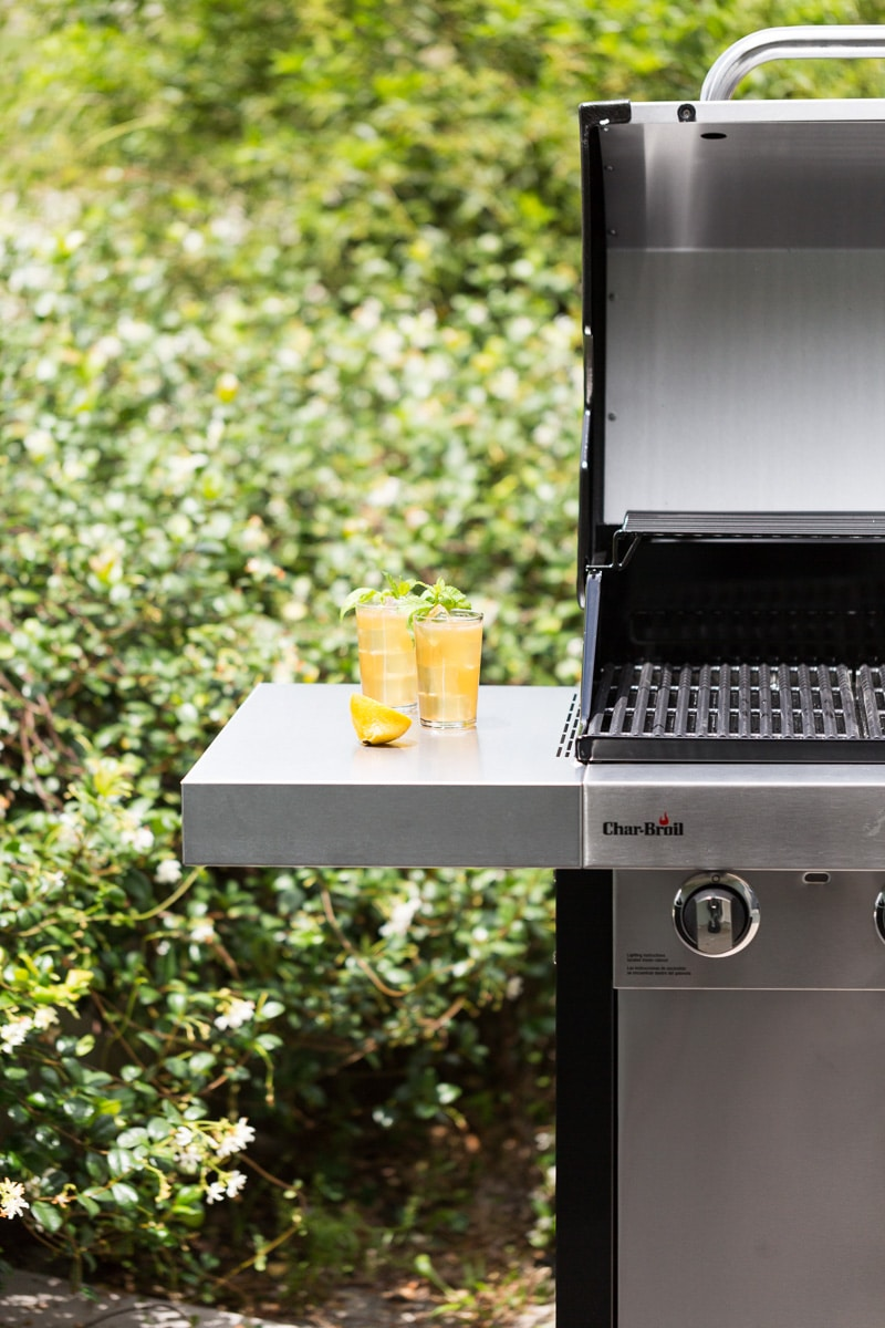 Brown Sugar Grilled Lemonade by the grill