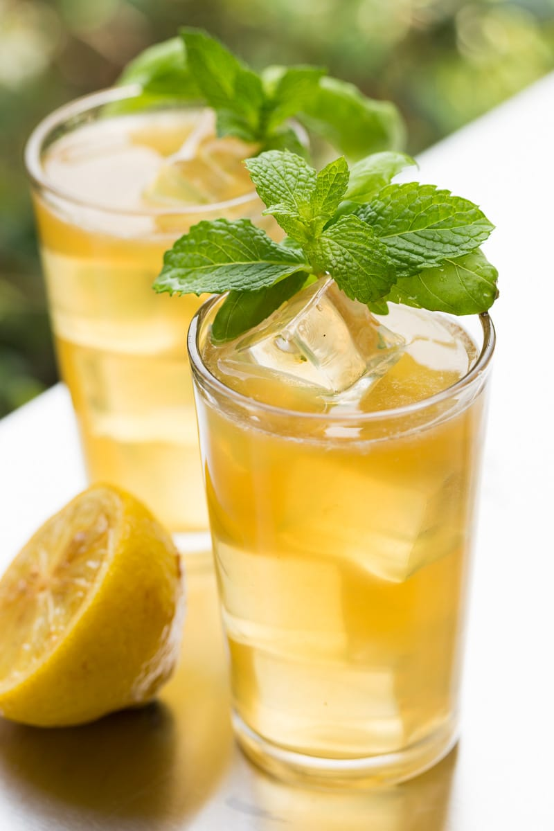 Brown Sugar Grilled Lemonade is made with fresh lemons lightly grilled with brown sugar. Perfect for summer cookouts and entertaining!