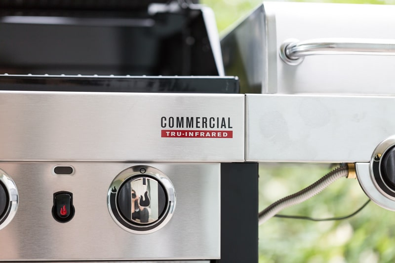 Char-Broil Commercial Tru Infrared Grill Logo