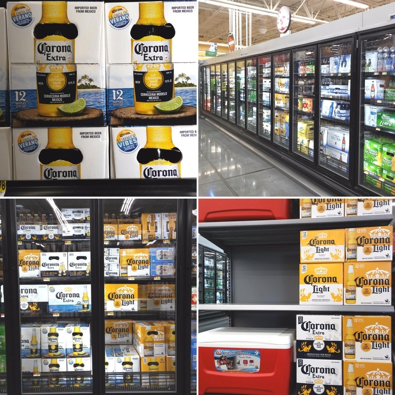 Corona Extra on Store Shelves