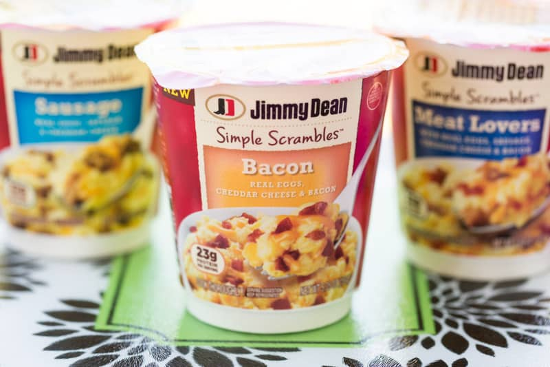 Jimmy Dean Simple Scrambles Bacon