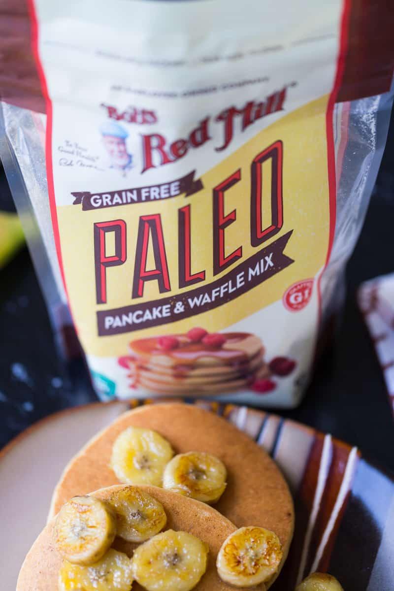 Paleo Pancakes and Bob's Rede Mill paleo pancake mix